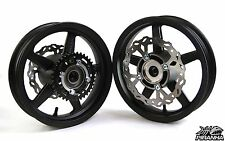 "Piranha Pit Bike Super Motard 12"" Rims Wheels discs sprocket. SSR, Pitster Pro"