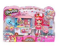 Shopkins SHOPPIES DONATINAS Donut Delights Playset w/ VIP Card and 2 Exclusives!