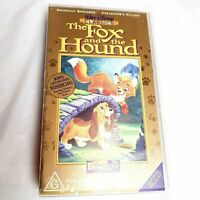 The Fox and the Hound VHS Video Digitally restored Detectors Edition