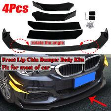 Universal Car Front Bumper Lip Body Kit Spoiler For BMW