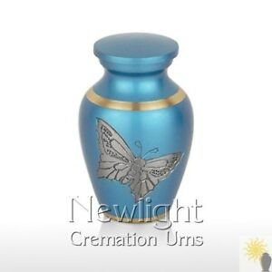 Pewter Butterfly Mini Urn (3inch)