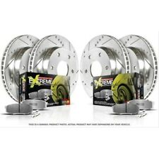 Powerstop K1381-26-Z26 Brake Pads & Rotor Kit For Street-Front & Rear
