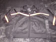 NIKE JORDAN Baby Boys BLACK Jumpman Logo Long Sleeve Track Jacket Size 24 Months