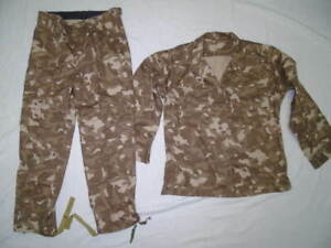 Soviet Russian Army summer sand Afghanka suit in Desert camo Size 54-4