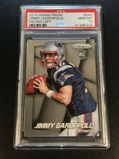 JIMMY GAROPPOLO 2014 PANINI PRIZM #243 FACING LEFT CHROME ROOKIE RC PSA 10