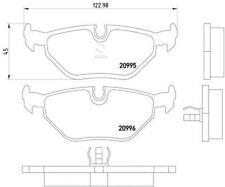 MDB1369 M1155 MINTEX Brake Pad Set disc brake rear