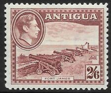 ANTIGUA 1938 2s 6d brown-purple, FM hinged. SG 106. Cat.£55.
