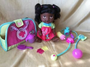 Hasbro BABY ALIVE Better Now Baby 2012 African American w/ Dr. Bag & Accessories