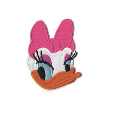 Daisy Duck Face Embroidered Iron On Sew On Patch Dress Bag tshirt Jacket Skirt