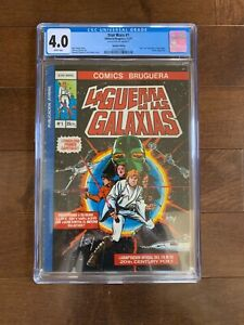 Star Wars Comic Spanish Edition #1 (1977)  - Not CGC 9.8 But Single Highest Grad