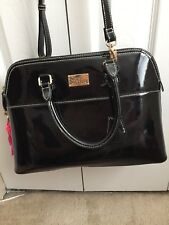 Pauls Boutique Large Maisy Bag Patend Black