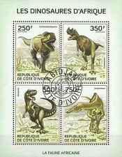 Timbres Préhistoire Cote d'Ivoire 1286/9 o année 2014 lot 14624