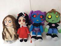 Mezco Living Dead Dolls Posey Sin Ophelia Zach Horror Zombie Soft Plush Toys Lot