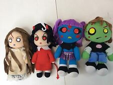 Mezco Living Dead Dolls Posey, Sin, Ophelia & Zach Official Soft Plush Set of 4