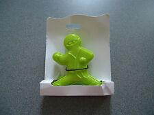 "Green Ninja Hand Held Mini Battery Operated  Personal Fan 5"""
