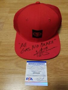Kyle Shanahan Autographed Signed San Francisco 49ers Trucker Hat Cap PSA/DNA COA