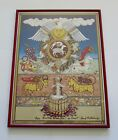 Signed Ford Ruthling Santa Fe Wine & Chile Fiesta 1997 Poster Print