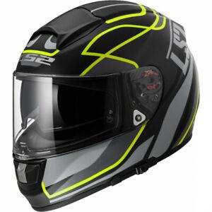 Helmet LS2 FF397 Vector FT2 Vantage Matt Black/Yellow