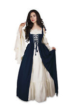 Idd Renaissance Medieval Irish Costume Over Dress Fitted Bodice 2xl/3xl Set