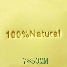 100% Natural Soap Stamp For Handmade Soap Candle Candy Stamp Fimo Stamp