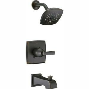 Delta  Ashlyn 1-Handle Pres Balance Tub and Shower Faucet Trim Kit (No Valve)