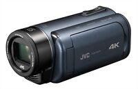 2018 JVC Video Camera Everio R 4K Shooting Deep Ocean Blue Gz-Ry980-A Japan NEW