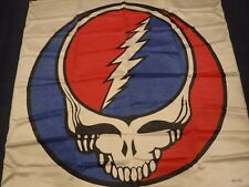 Grateful Dead Vintage GIANT banner from 1984 -STEAL YOUR FACE-JERRY GARCIA-420!