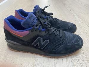 New Balance 997 Made In USA Black Magnet M997CSS Size US 12