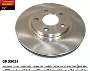 Disc Brake Rotor fits 1998-2003 Pontiac Firebird Bonneville  BEST BRAKES USA