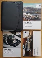 GENUINE BMW X3 F25 HANDBOOK OWNERS MANUAL WALLET 2010-2014 PACK C-241