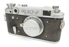Fed 2 Rangefinder Russian Soviet 35mm Film Camera body 50mm f/3.5 Lens
