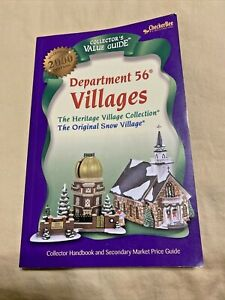 Dept 56 Millennium 2000 Ed. Collector's Value Guide Villages Price Guide 5th Ed.