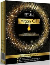 Revuele Argan Oil Gift Set Cell Regeneration - Day Cream, Eye Elixir, Hand Cream