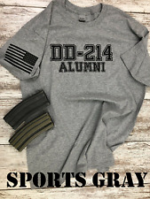 DD-214 Alumni Military T-shirt. Perfect For Marines, Army, Navy, Air-force p1 00