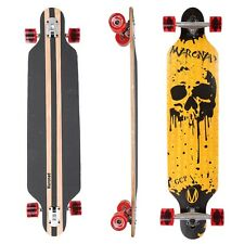 "MARONAD ® Longboard Skateboard 41"" DROP THROUGH Board ABEC 11 Komplett DRIPSCULL"