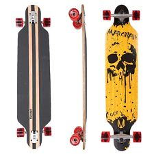 "Maronad ® Longboard Skateboard 41"" drop through board ABEC 11 completa dripscull"
