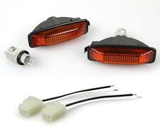 fit 94-97 Accord JDM Amber DOME Side Marker Lights DEPO 95