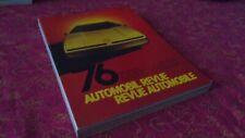 REVUE AUTOMOBILE NUMERO CATALOGUE 1976 AUTOMOBIL REVUE KATALOGNUMMER