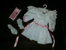 "American girl 18"" samantha collection doll outfit #9 tea dress retired 2005"