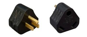 RV Electrical Adapter Plug 15AMP Male to 30AMP Female Motorhome Camper