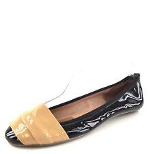 Jeffrey Campbell Wrapped Black Patent Leather Ballet Flats Women's Size 6.5 M*
