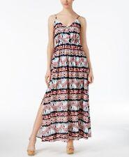 Jack by BB Dakota Agnes Printed Maxi Dress Multi S M6b3