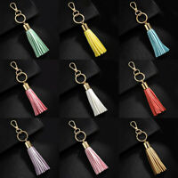 Tassel Pendant Keychain Keyring Bag Purse Key Chain Handbag Accessories 55UK