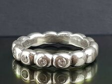 Pandora Ring of Ovals Silver Hope Stacking Ring 190829 CZK Size 52  Free Postage
