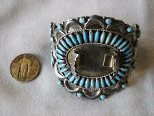 & Turquoise Watch Cuff Victor Moses Begay Sterling