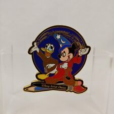 Artist Signed Artist Choice LE 10,000 Mickey Sorcerer & Donald Disney Pin 1387