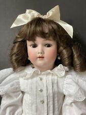 """Antique German Handwerck 24"""" Doll Bisque Head Composition Body"""