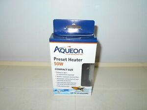 AQUEON NEW! FISH AQUARIUM PRESET 50W HEATER - UP TO 20 GALLONS                B2