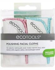EcoTools - Muslin Polishing Cloths - 2 Count - NIP