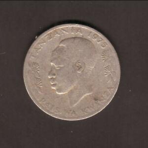 Tanzania--1983--1 Shilling Coin--President J K Nyerere